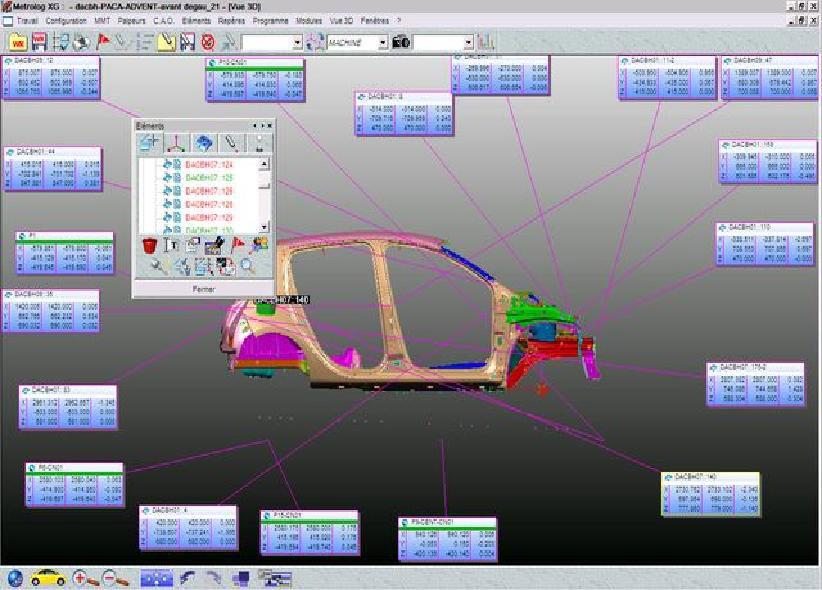 初样检测 - METRASCAN三维扫描仪